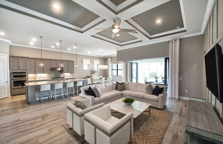new homes in estero florida at wild blue pulte