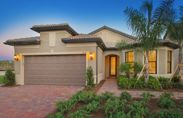 New Homes In Vero Beach Florida At Lakes At Waterway Village Divosta