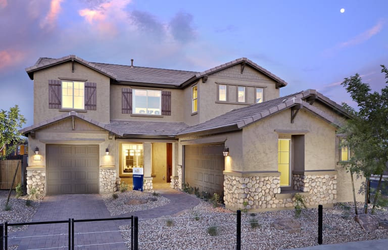 Fabulous Cadence Estate Series New Home Communities Mesa Arizona Interior Design Ideas Tzicisoteloinfo