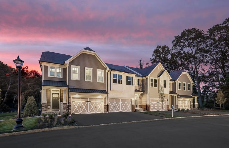 Gables at Woodcliff Lake New Home Communities | Woodcliff