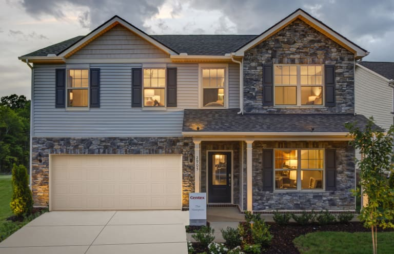 New Construction Homes in Tennessee | Centex on