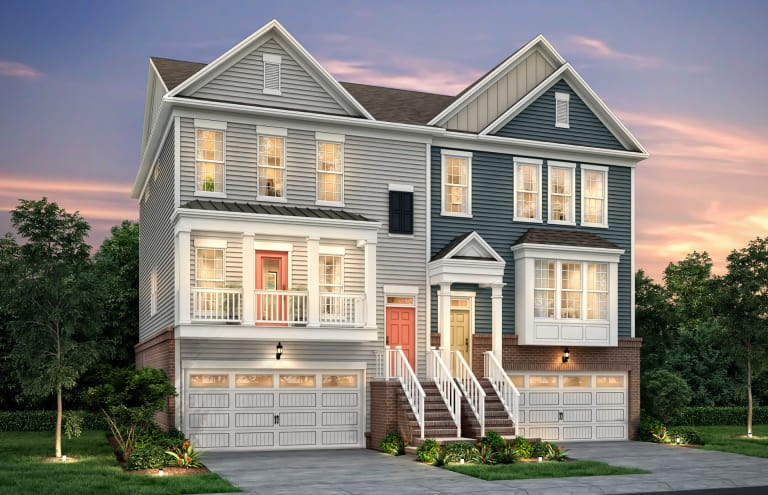 Townhome Building Example