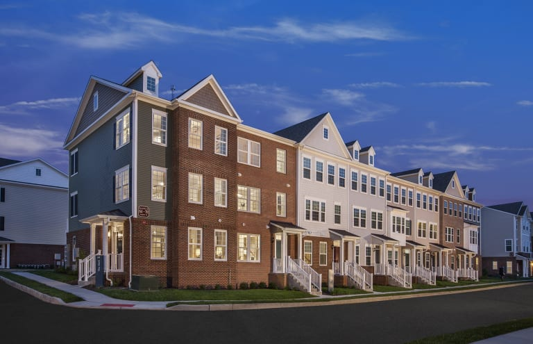 New Homes In Wood Ridge New Jersey At Liberty Square At Wesmont