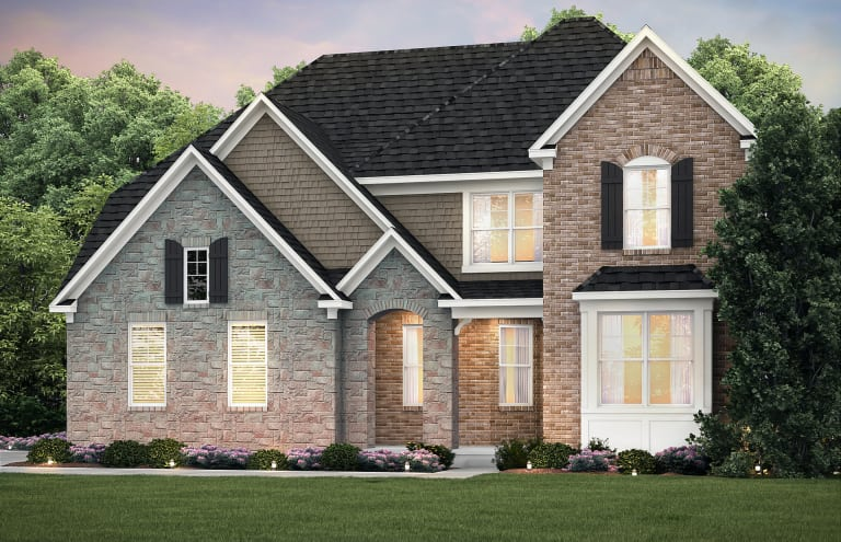 New Quick Move In Home In Lyon Township Mi At Forest Edge Lot