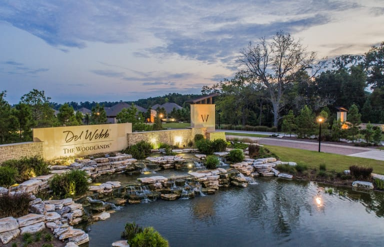 New Homes In The Woodlands Texas At Del Webb The Woodlands Del Webb