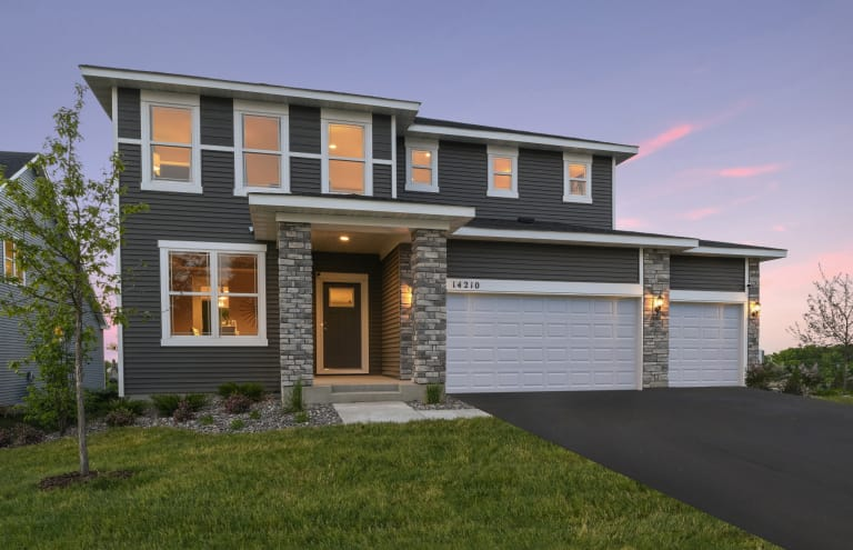 New Homes in Plymouth Minnesota at Camelot Nine Expressions – Continental Homes Of Texas Floor Plans