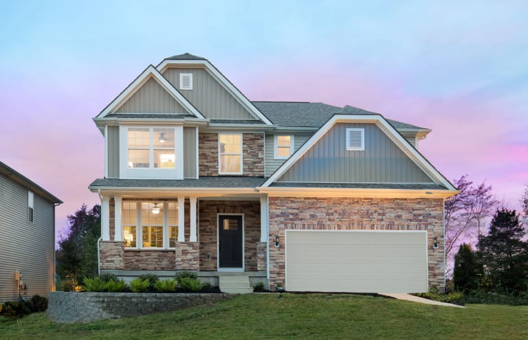 New Homes in Louisville, Kentucky at Poplar Lakes | Pulte