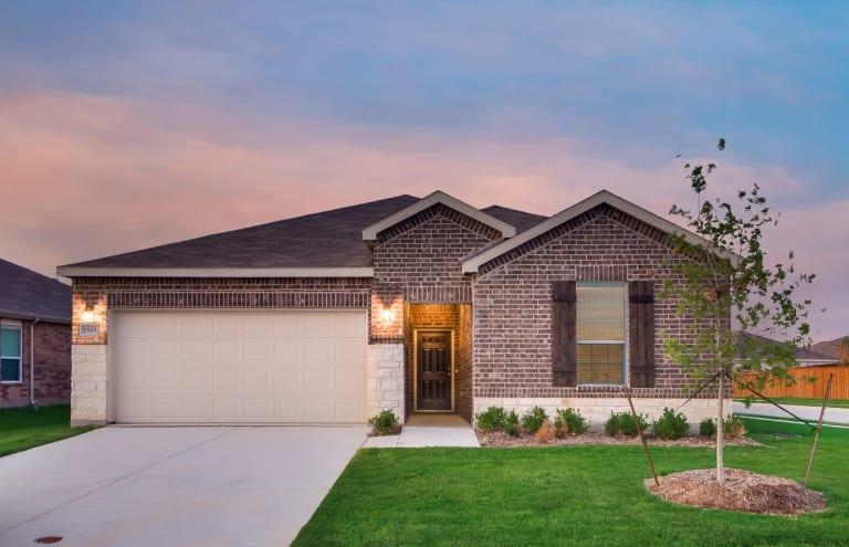 Elizabeth Creek New Home Communities Fort Worth Texas Homes Centex