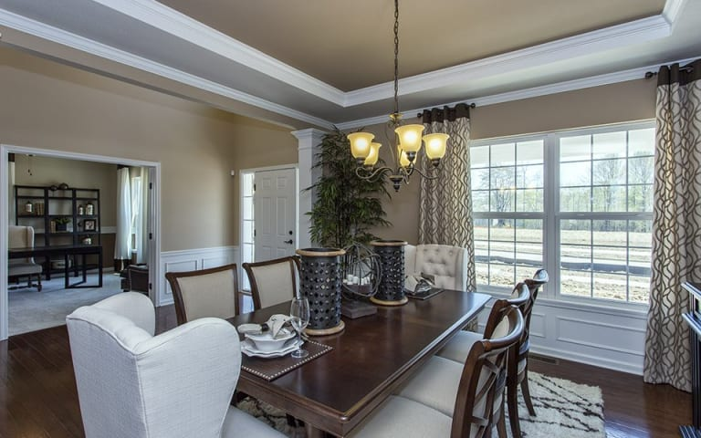 Atwater in jackson twp oh at the reserve at emerald estates pulte dining room sciox Choice Image