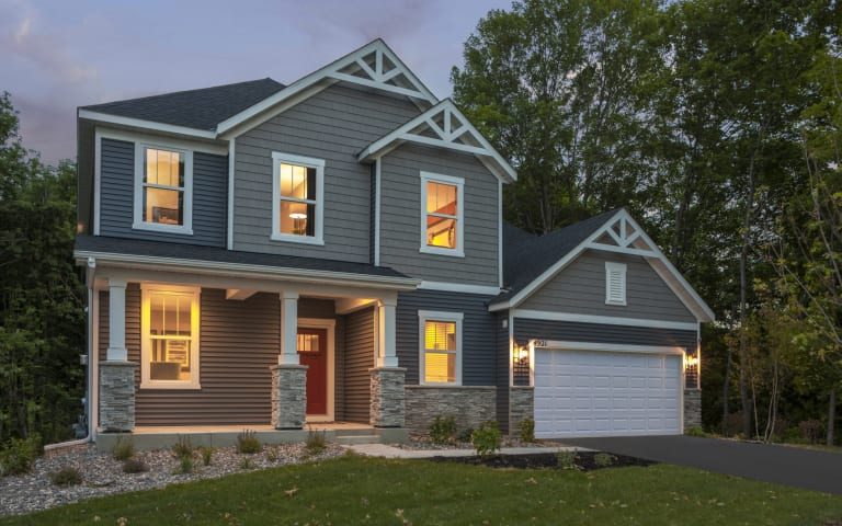 Westchester In Woodbury Mn At Southridge Expressions Collection Pulte
