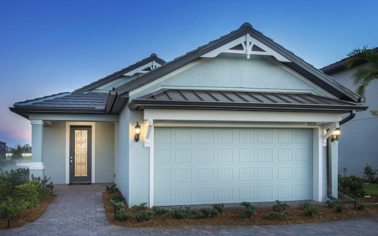Elevation KW2B With Tile Roof