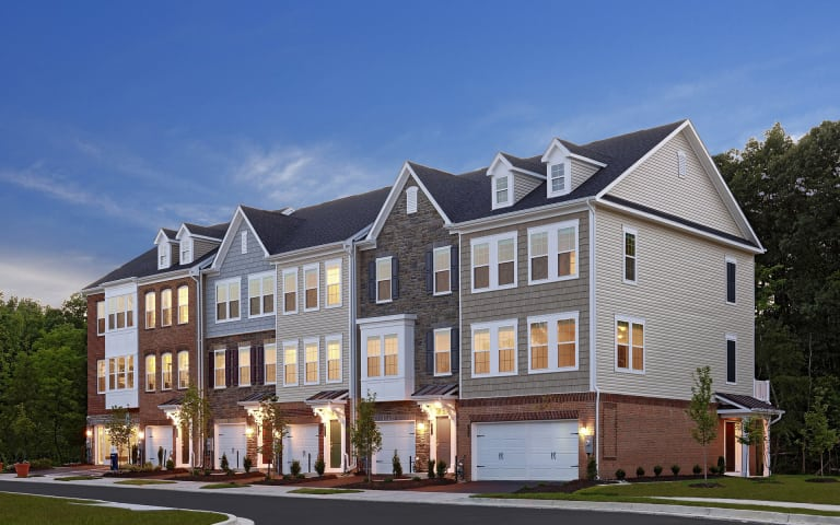 lenox in hanover md at shipley homestead towns liberty series pulte