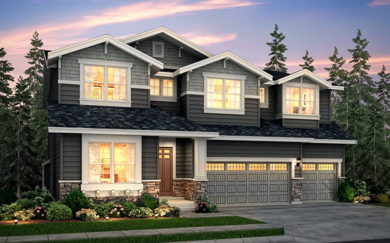 Davenport In Bothell Wa At Meadows At Palm Creek Pulte