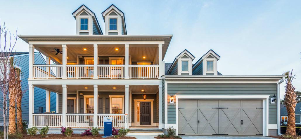 Carolina bay model homes