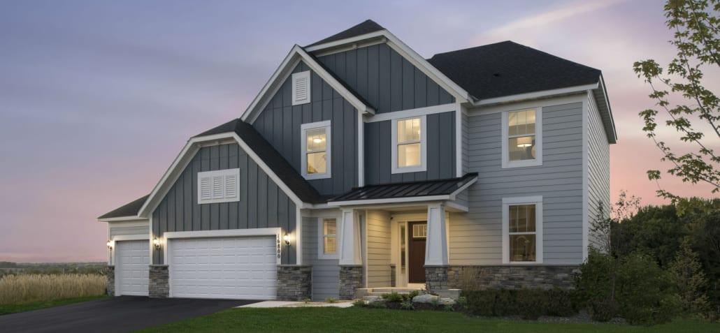 Pulte homes deerfield model