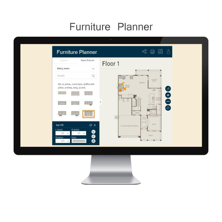 Interactive Room Planner design tools | pulte