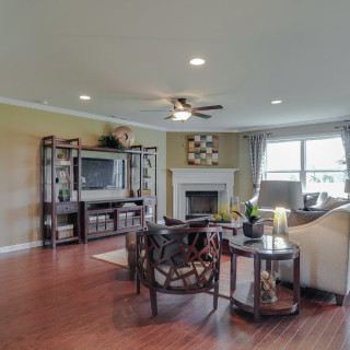4' Great Room Extension and Hardwood Floors
