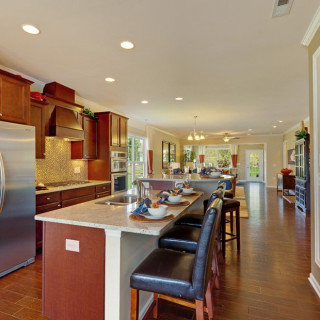 The Included Features 2016 Package: Upgraded granite countertops
