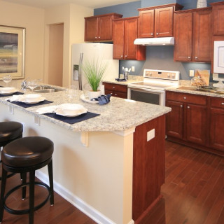 The Preferred Plus Package: Hardwoods in kitchen