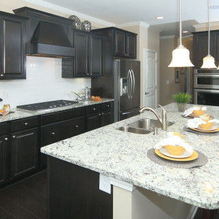 The Included Features Package: Upgraded granite countertops