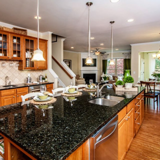 The Preferred Plus Package: Upgraded kitchen countertops