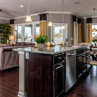 The Preferred Plus Package: Hardwoods in the kitchen and gathering room