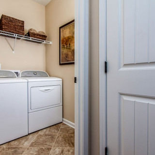 The Included Features 2016 Package: Tile in Laundry Room