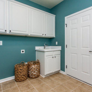 The Included Features 2017 Package: Tile in laundry room
