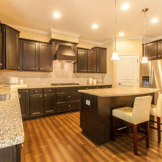 Maple Cabinets, Granite Countertops