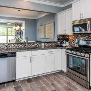 The Preferred Package: Kitchen granite countertops
