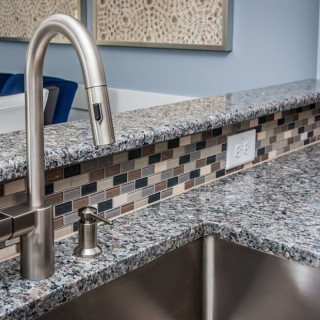 The Preferred Plus Package: Kitchen tile backsplash