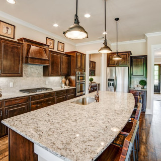 "Granite Countertops, 5"" Hardwoods, & Stainless Steel Appliances"