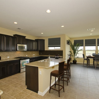 Kitchen - Enhanced Granite countertops and Stainless Steel Appliances