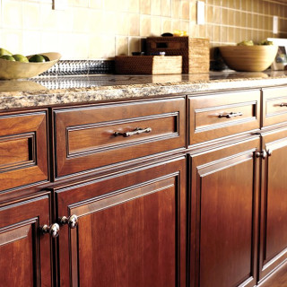 Package upgrades include countertop, cabinet and electrical