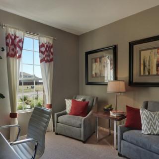 Centex Home Model  Story Family Room