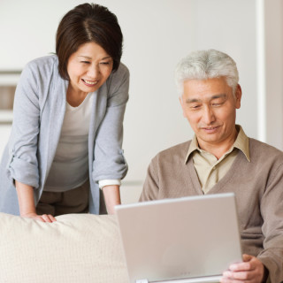 Asian Couple on computerSquare crop1240 x 1240102755563; 102755563; Senior couple using laptop703