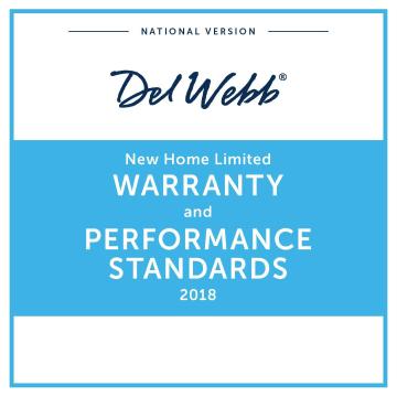 Reliable Builders Warranties | 10-year Home Warranty | Del Webb