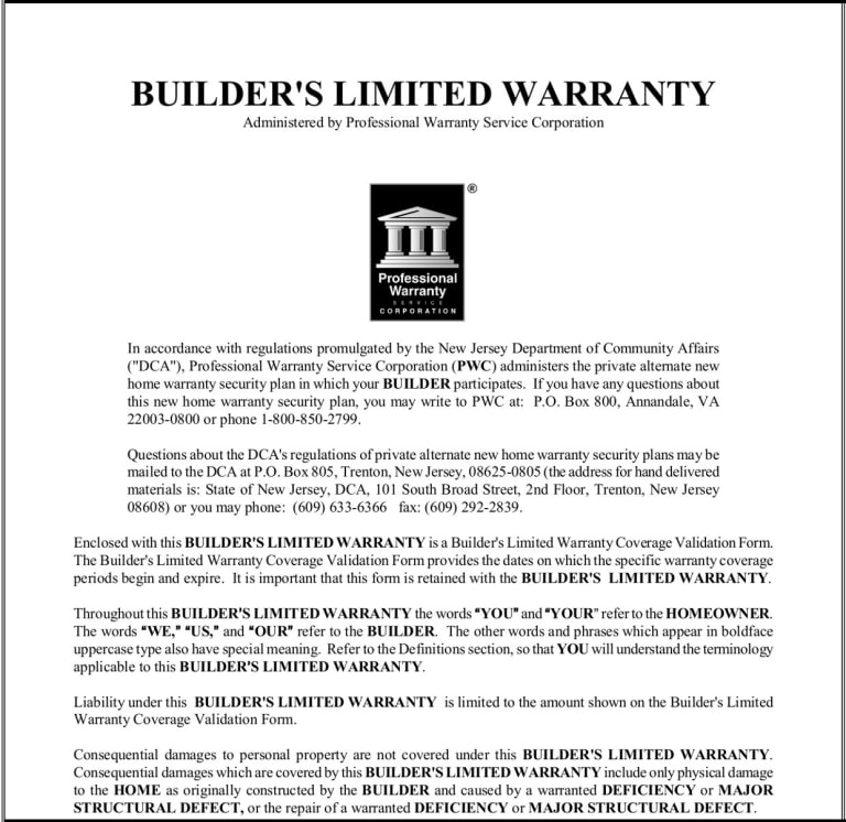 A Home Builder Warranty You Can Trust New Home Warranty S Pulte