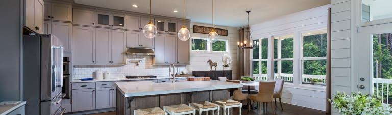 10 Ideas for Painted Kitchen Cabinets | Kitchen Design | Pulte