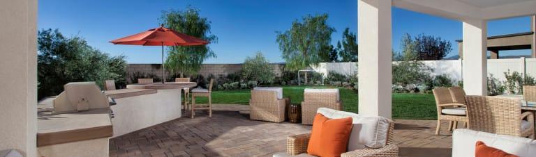 Ideas For Building A Rock Patio Home Design Trends Pulte