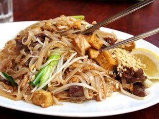 rýžové nudle pěti vůní s tofu