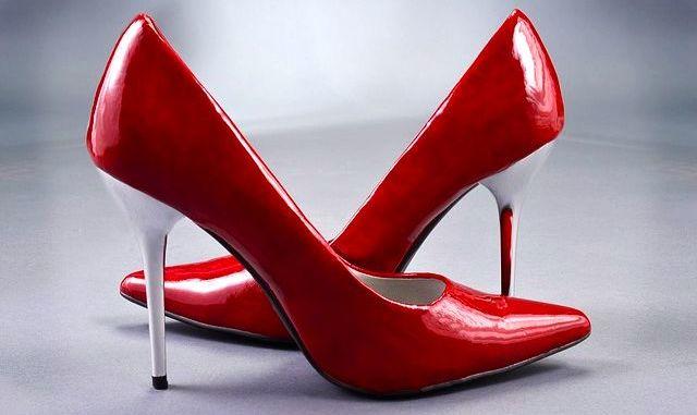 lodičky boty červené