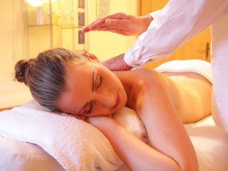masáž žena