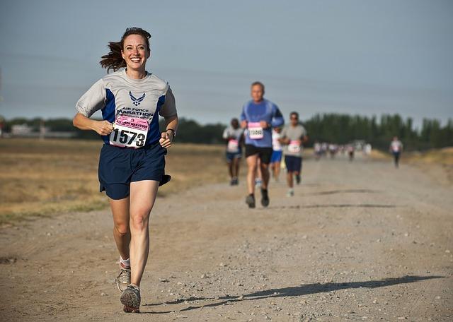 maraton žena