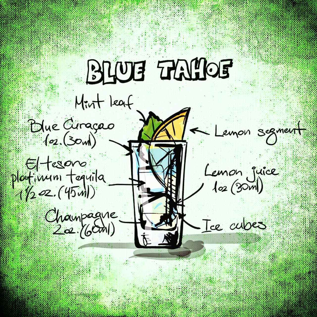 modrý tahoe