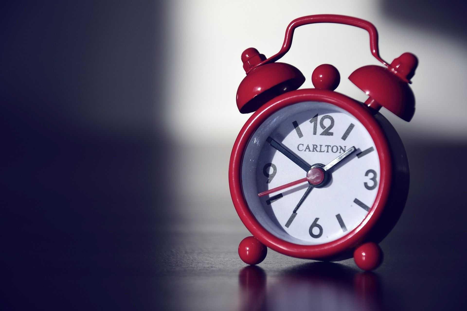 Budík čas