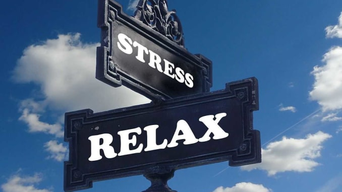 Rozcestník stres relax