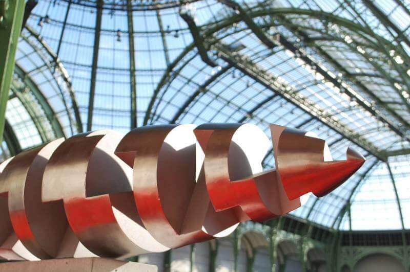 Sculpture sur métal exposée au Grand Palais - Paris - Exposition des sculptures sur métal de Félix Valdelièvre