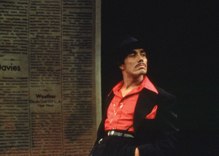 "Edward James Olmos in the 1978 world premiere of ""Zoot Suit"" at the Mark Taper Forum. Olmos will participate in Center Theatre Group's 50th Anniversary Celebration on Saturday, May 20, 2017, at the Ahmanson Theatre. For more information, visit CenterTheatreGroup.org/50thCelebration. Media Contact: CTGMedia@CenterTheatreGroup.org / (213) 972-7376. Photo by Jay Thompson."