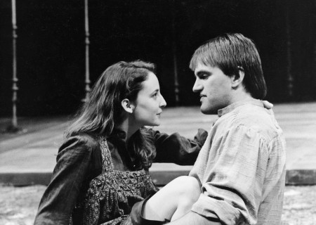 (L–R) Katherine Hiler and Scott MacDonald in 'The Kentucky Cycle.'